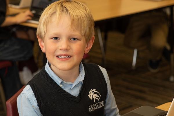 1st Grade Boy