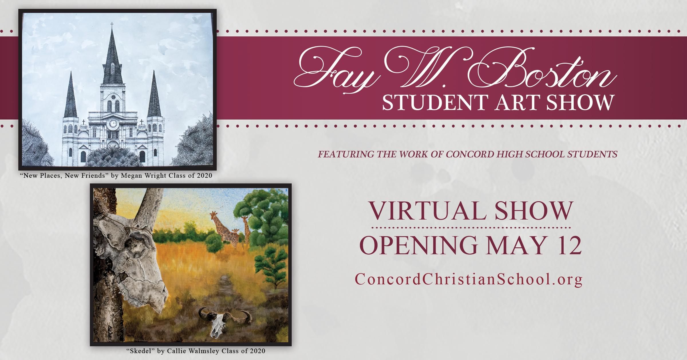 Fay W. Boston Art Show - Virtual Event