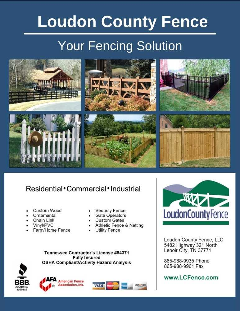 Loudon County Fence