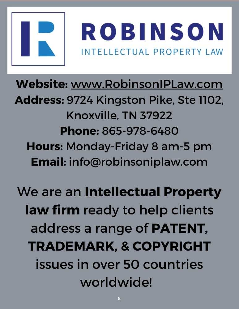 Robinson Intellectual Property Law