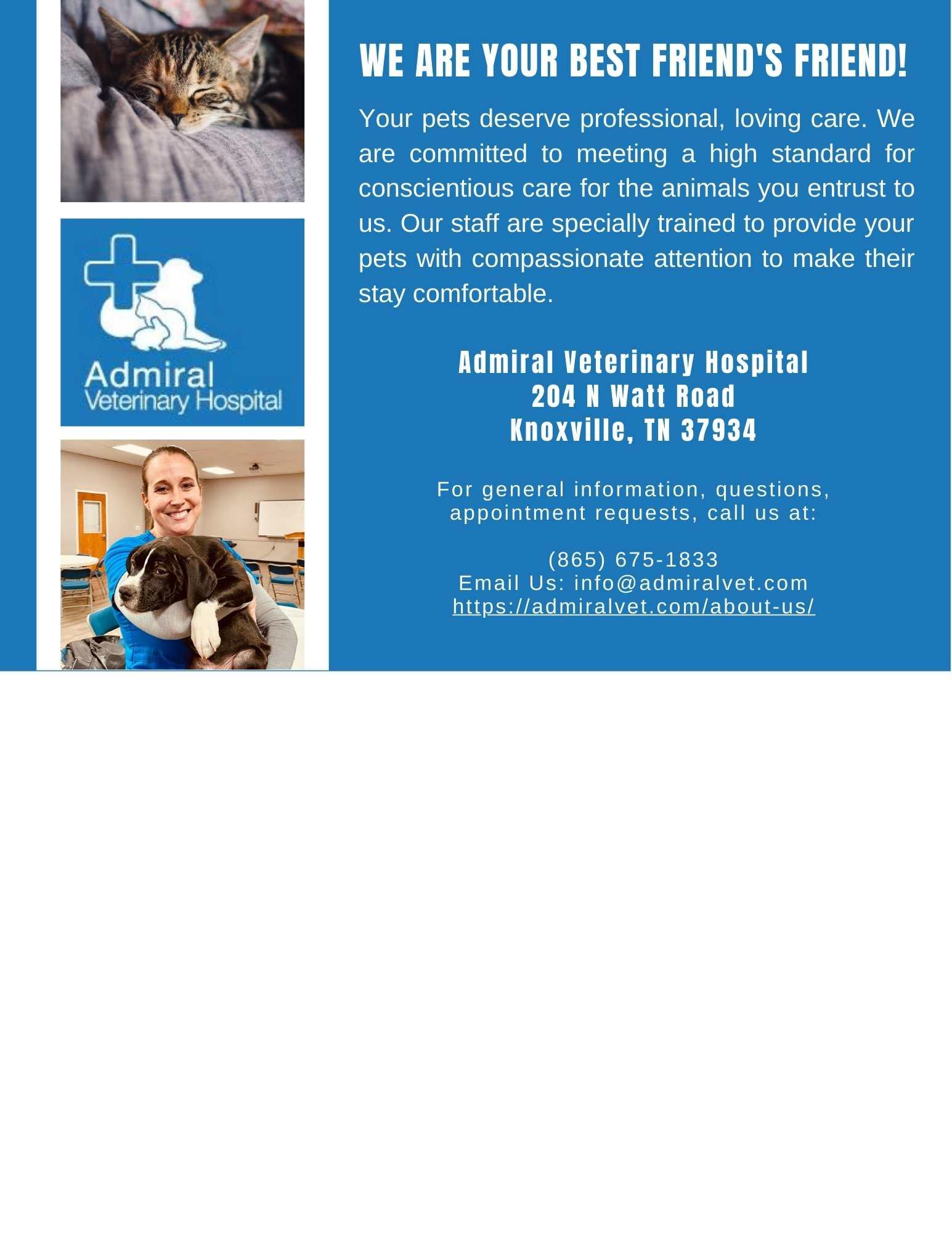 Admiral Veterinary Hospital