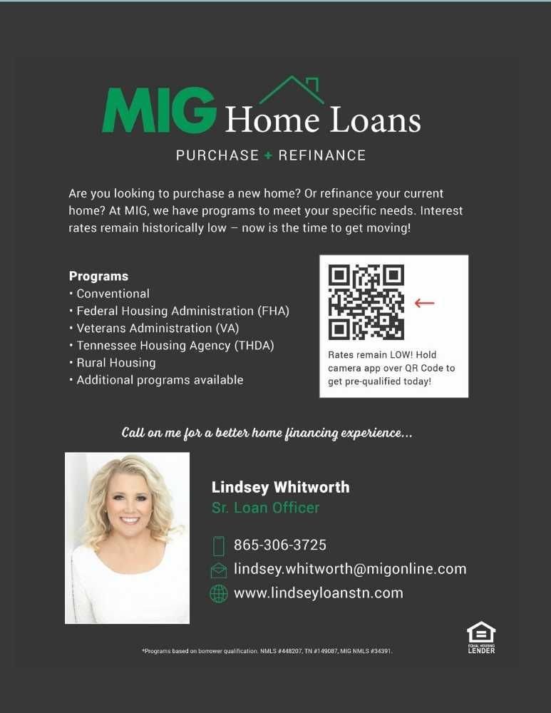 Lindsey Whitworth Loan Officer