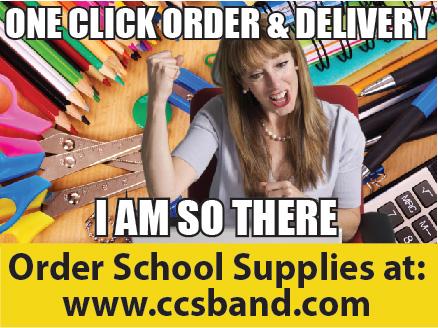 CCS Band Booster School Supplies